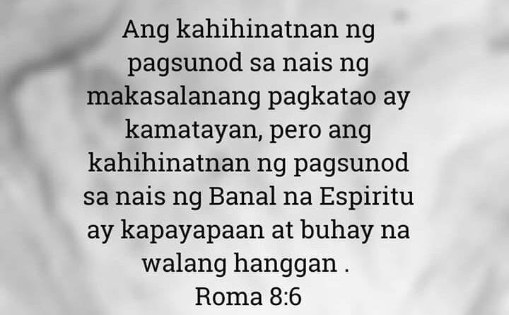 Roma 8:6, Roma 8:6