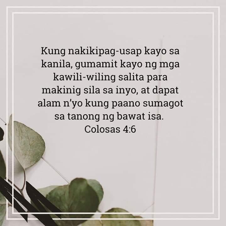 Colosas 4:6, Colosas 4:6