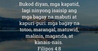 Filipos 4:8, Filipos 4:8