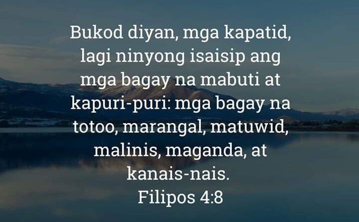Filipos 4:8