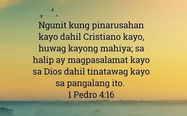 1 Pedro 4:16