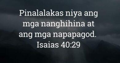 Isaias 40:29, Isaias 40:29