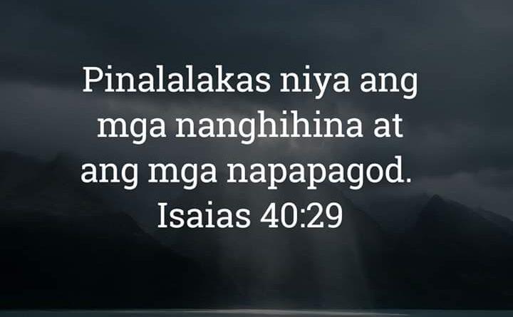 Isaias 40:29