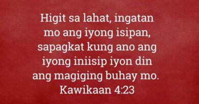 Kawikaan 4:23, Kawikaan 4:23