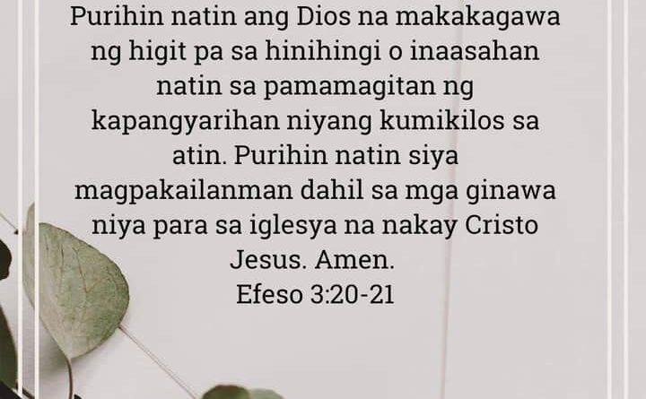 Efeso 3:20-21