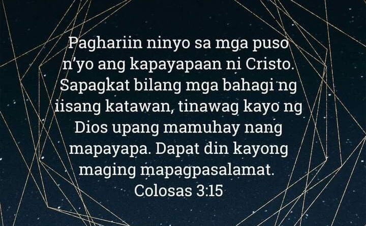 Colosas 3:15, Colosas 3:15