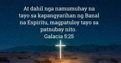 Galacia 5:25, Galacia 5:25