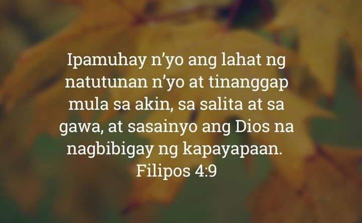 Filipos 4:9