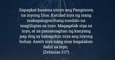 Zefanias 3:17, Zefanias 3:17