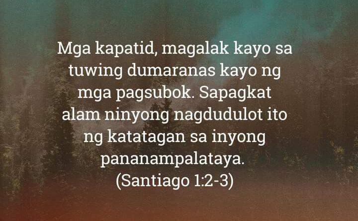 Santiago 1:2-3, Santiago 1:2-3