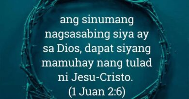 1 Juan 2:6, 1 Juan 2:6