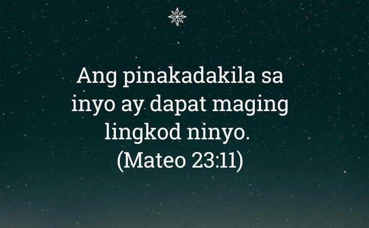 Mateo 23:11