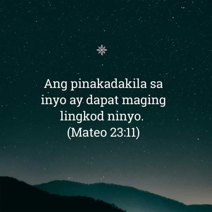 Mateo 23:11, Mateo 23:11