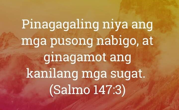 Salmo 147:3