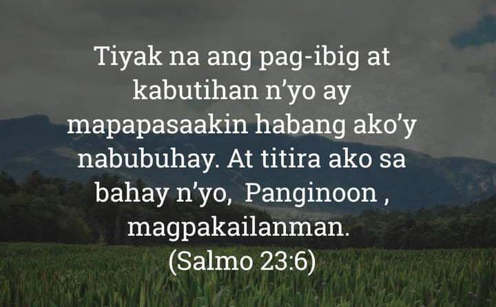 Salmo 23:6