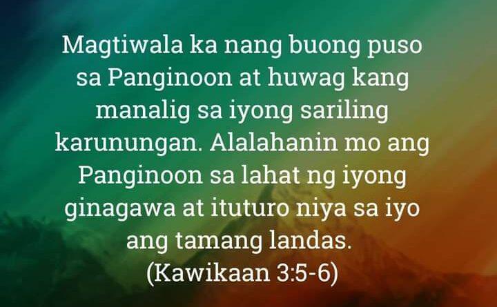 Kawikaan 3:5-6
