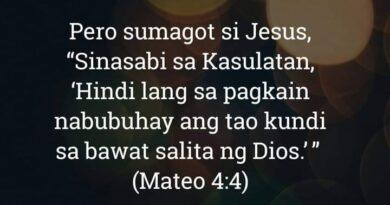 Mateo 4:4, Mateo 4:4