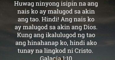 Galacia 1:10, Galacia 1:10