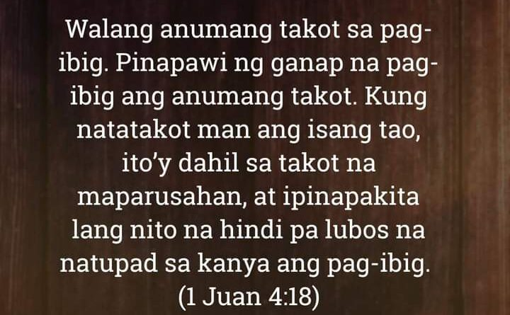 1 Juan 4:18