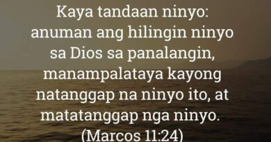 Marcos 11:24, Marcos 11:24