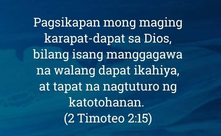 2 Timoteo 2:15