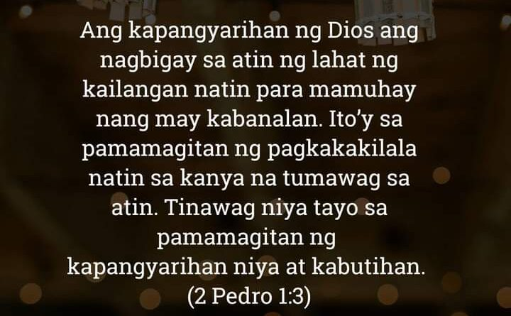 2 Pedro 1:3