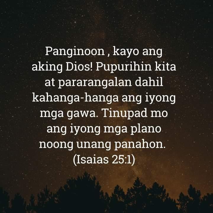Isaias 25:1, Isaias 25:1