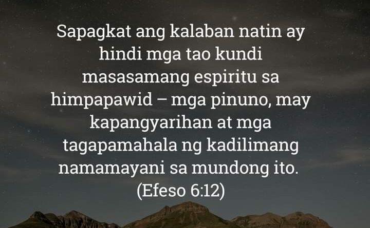 Efeso 6:12