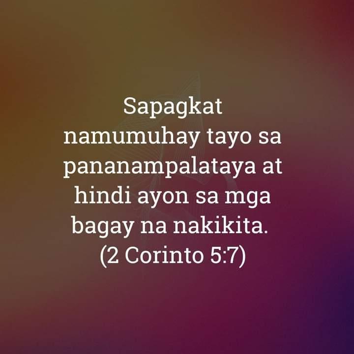 2 Corinto 5:7, 2 Corinto 5:7
