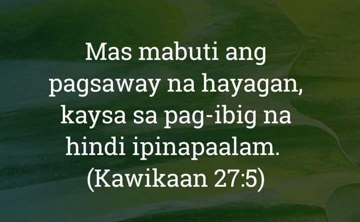 Kawikaan 27:5