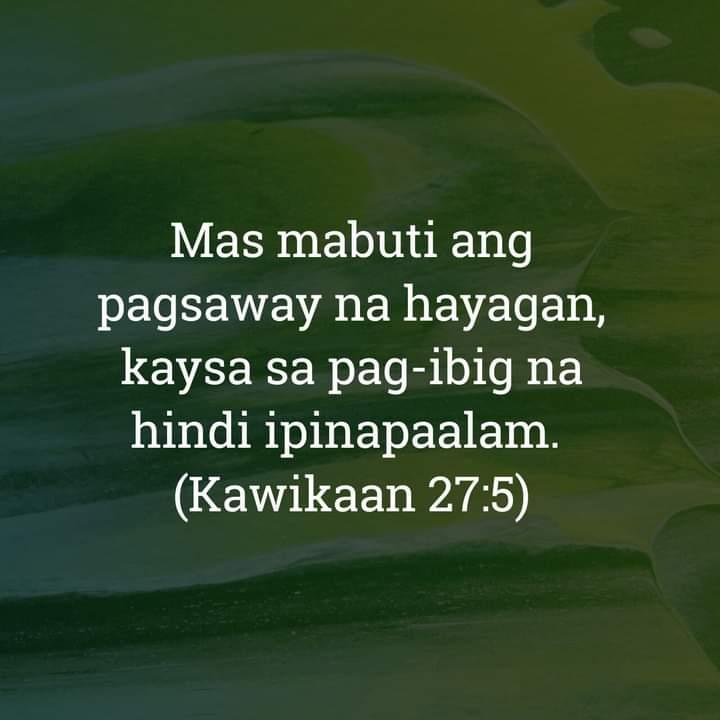 Kawikaan 27:5, Kawikaan 27:5