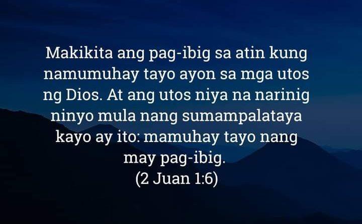 2 Juan 1:6