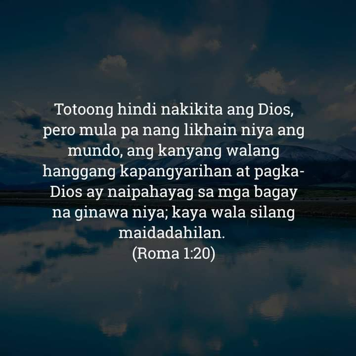Roma 1:20, Roma 1:20