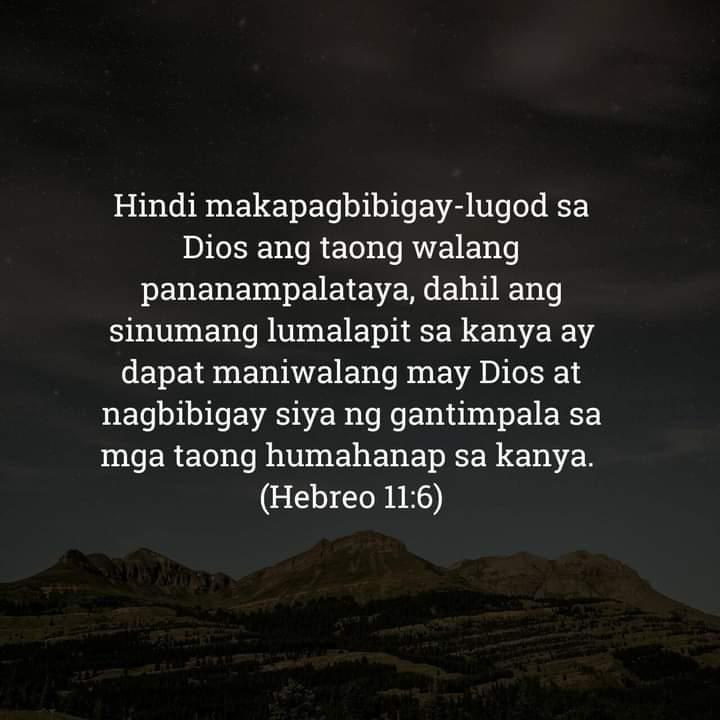Hebreo 11:6, Hebreo 11:6