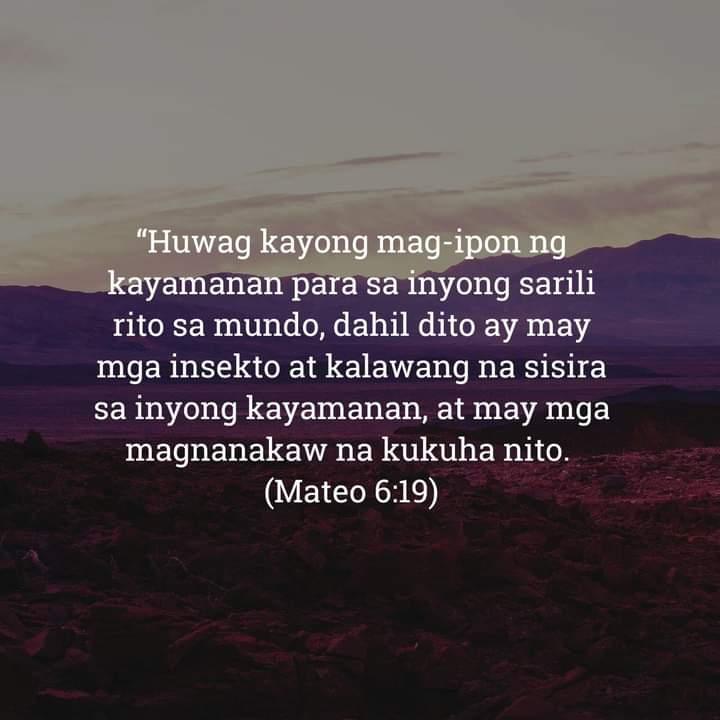 Mateo 6:19, Mateo 6:19