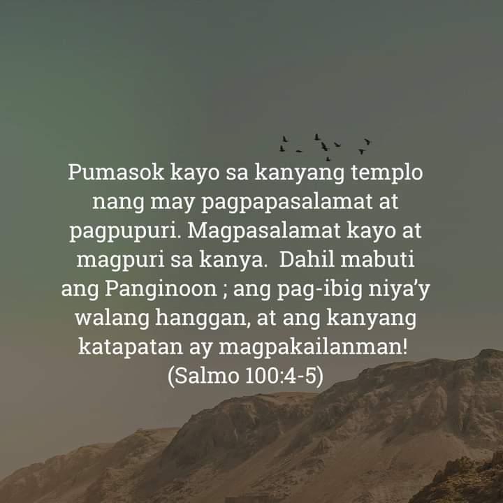 Salmo 100:4-5, Salmo 100:4-5