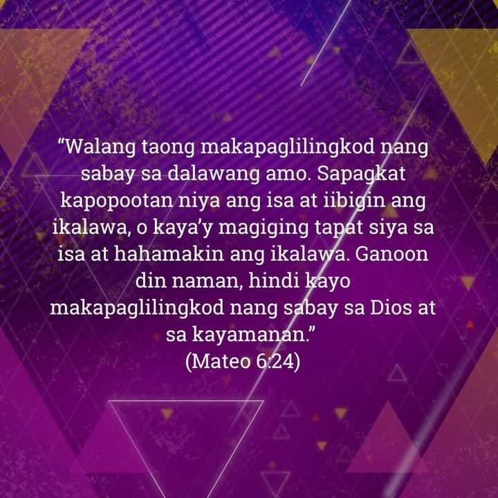 Mateo 6:24, Mateo 6:24