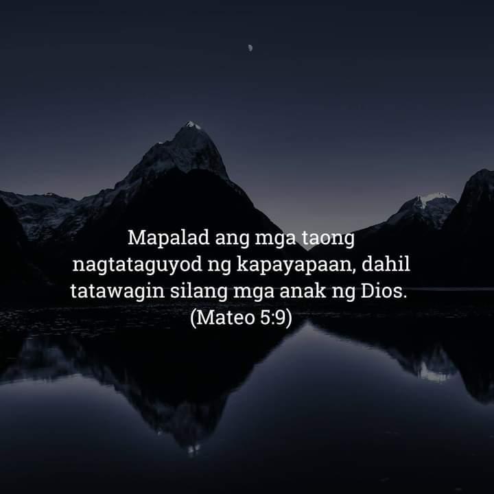 Mateo 5:9, Mateo 5:9