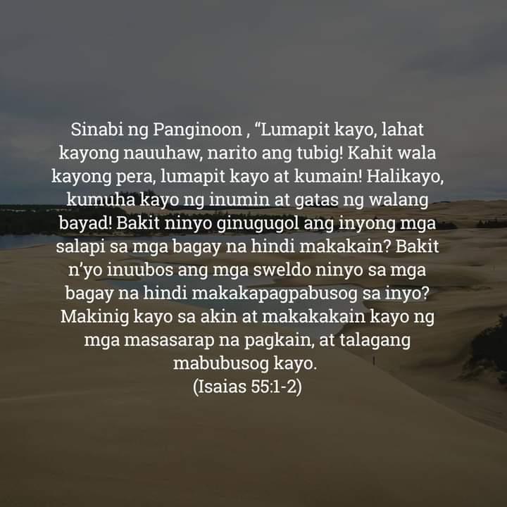 Isaias 55:1-2, Isaias 55:1-2