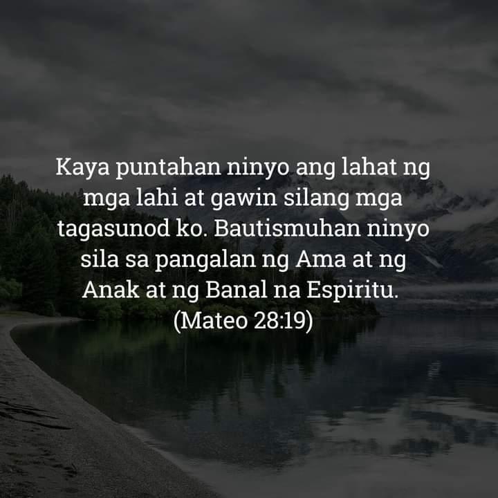 Mateo 28:19, Mateo 28:19