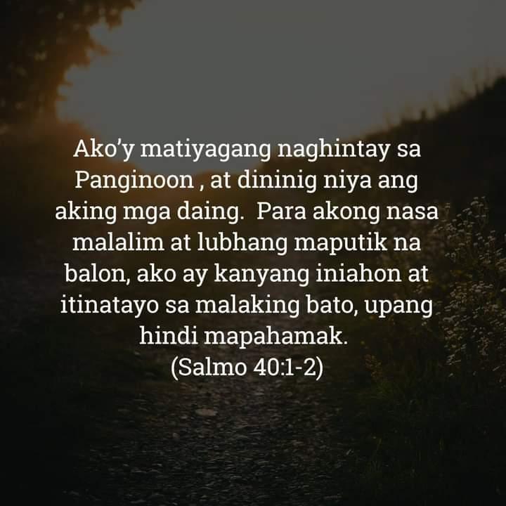 Salmo 40:1-2, Salmo 40:1-2