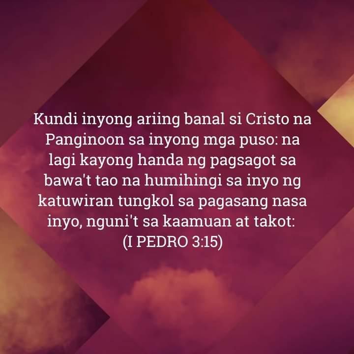 1 Pedro 3:15, 1 Pedro 3:15