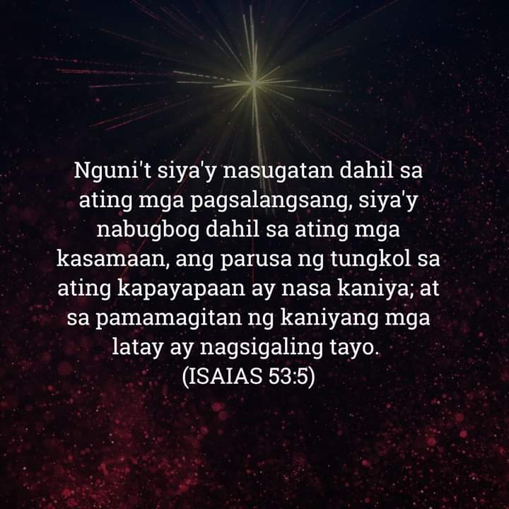 Isaias 53:5, Isaias 53:5