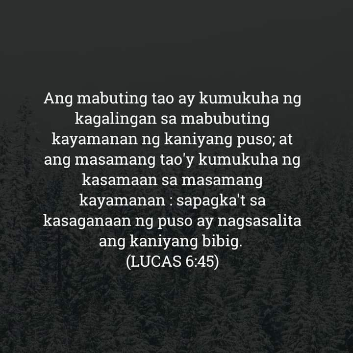 Lucas 6:45, Lucas 6:45