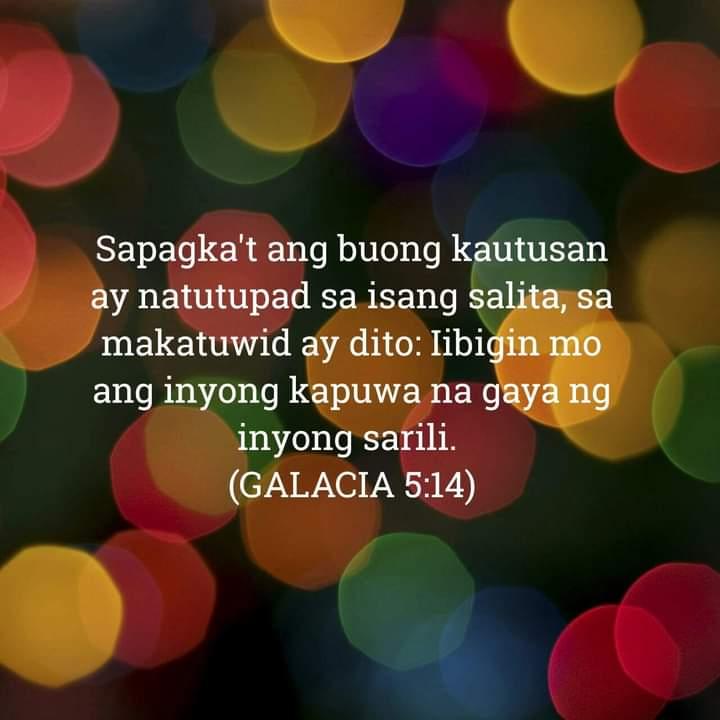 Galacia 5:14, Galacia 5:14