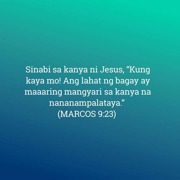 Marcos 9:23, Marcos 9:23