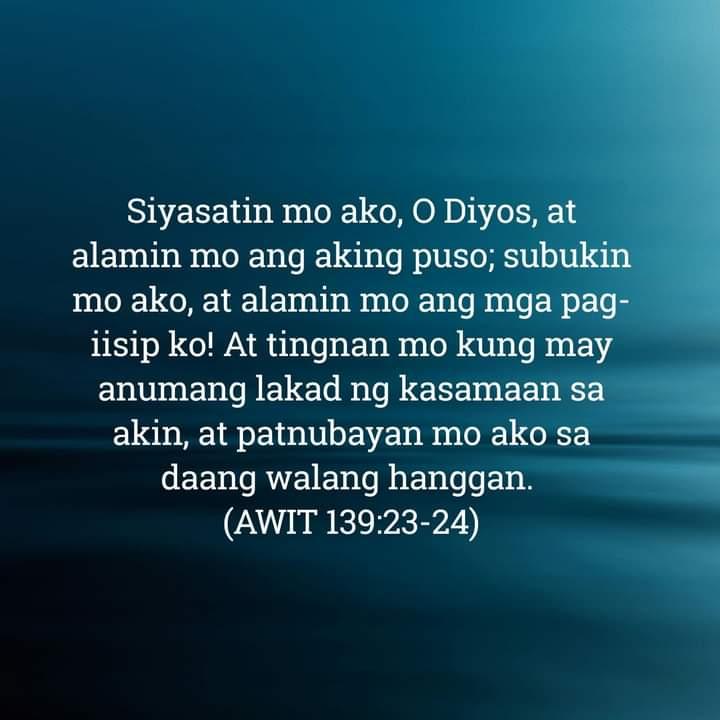 Awit 139:23-24, Awit 139:23-24