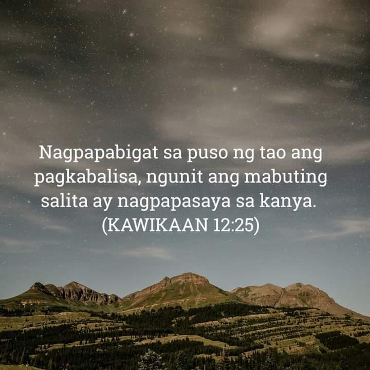 Kawikaan 12:25, Kawikaan 12:25