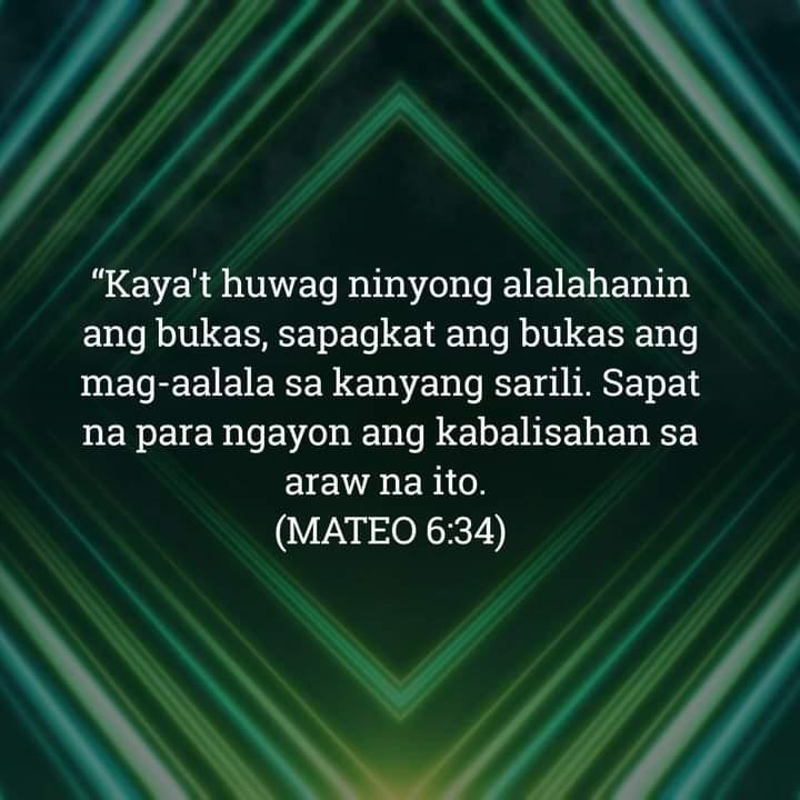 Mateo 6:34, Mateo 6:34