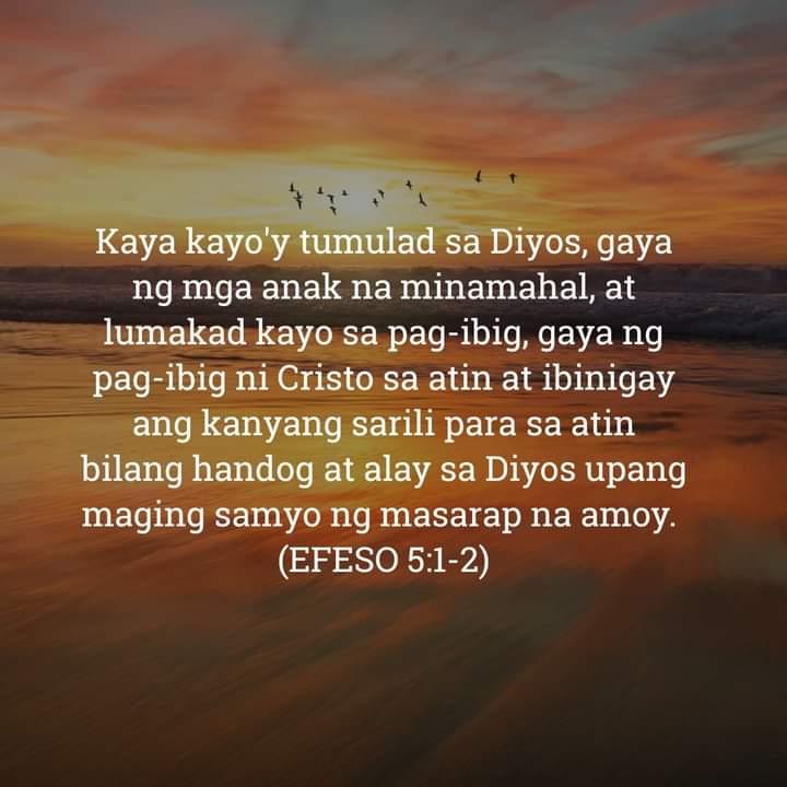 Efeso 5:1-2, Efeso 5:1-2